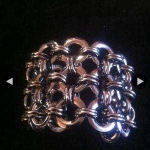 Jewelry - Custom Jewelry Chain Cuff Bracelet